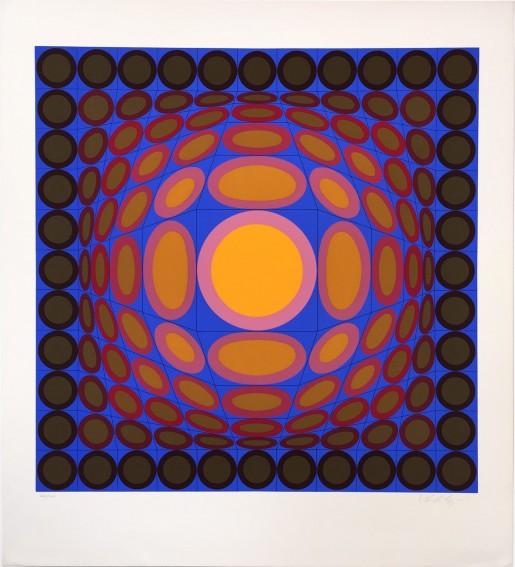 Victor Vasarely, Tri-Vega, 1975