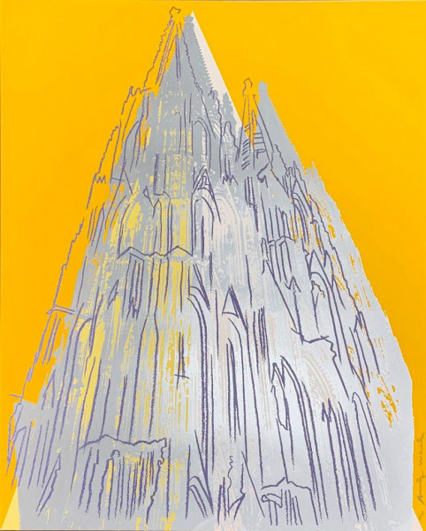 Andy Warhol, Cologne Cathedral (FS II.363), 1985