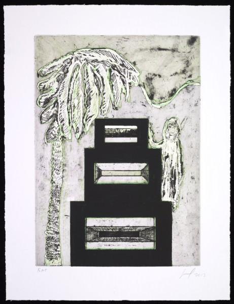 Peter Doig, Maracas (Speaker Box), 2013