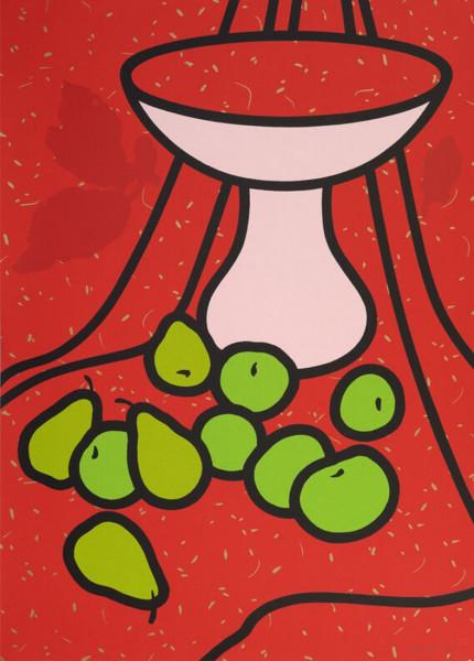 Patrick Caulfield, Fruit and Bowl, 1979-80