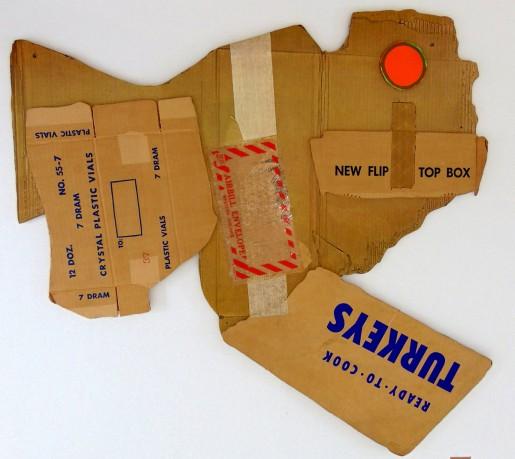 Robert Rauschenberg, Cardbird III, 1971