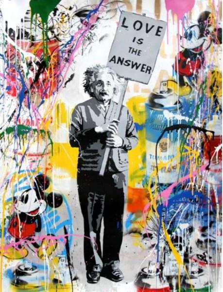 Mr. Brainwash, Einstein, 2016