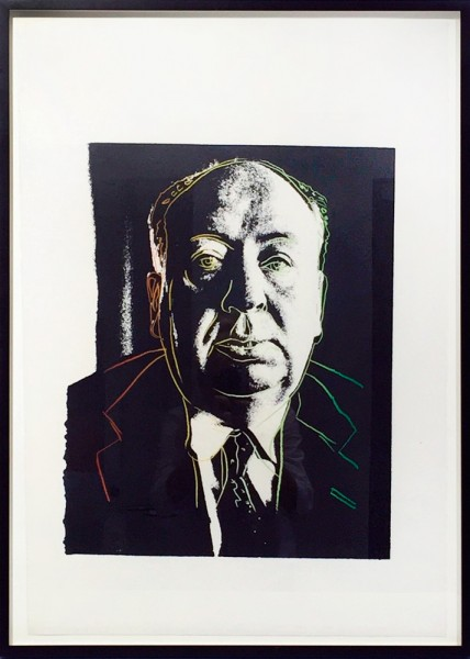 Andy Warhol, Alfred Hitchcock, 1983