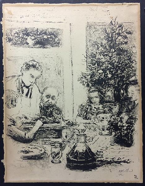 Edouard Vuillard, Le Repas, 1935