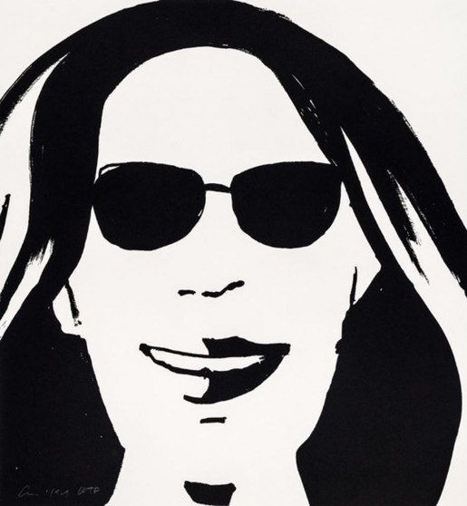 Alex Katz, Beauty 5, 2019