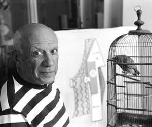 Picasso, Provence, France by René Burri