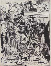David and Bathsheba (After Lucas Cranach) II