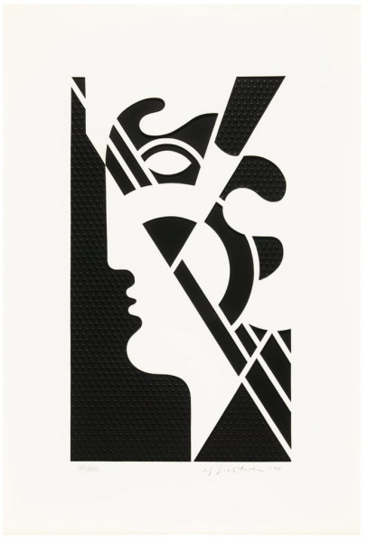 Roy Lichtenstein, Modern Head #5, 1970