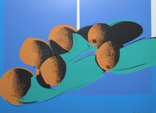 "Andy Warhol, Cantaloupes I (FS II.201), from the Portfolio ""Space Fruit: Still Lifes"", 1979"