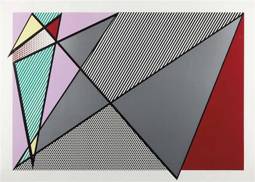 Roy Lichtenstein, Imperfect 224, 1988