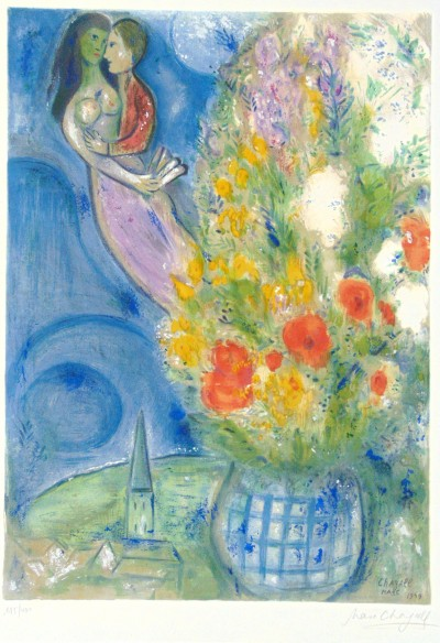 Marc Chagall, The Poppies | Les Coquelicots, 1949