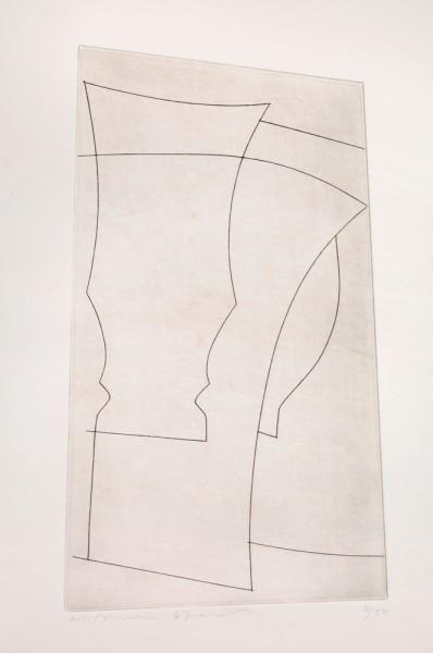 Ben Nicholson, Jug and Goblet, 1967