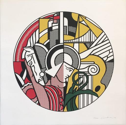 Roy Lichtenstein, The Solomon R. Guggenheim Museum Print, 1969