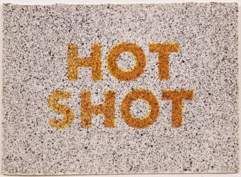 """Hot Shot (from """"Eighteen Small Prints"""") by Ed Ruscha"""