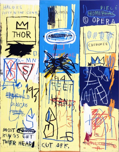 Jean-Michel Basquiat, Charles the First, 1982/2005