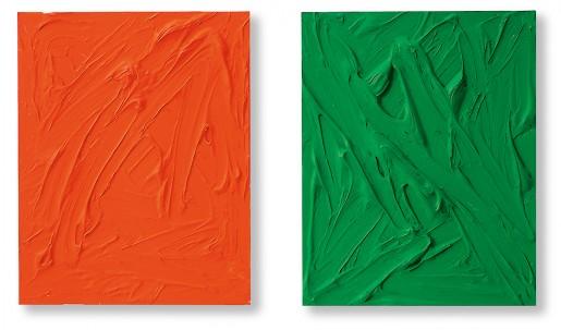 Gerhard Merz, Orange und Grün, 1997