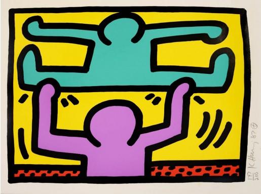 Keith Haring, Pop Shop I (2), 1987