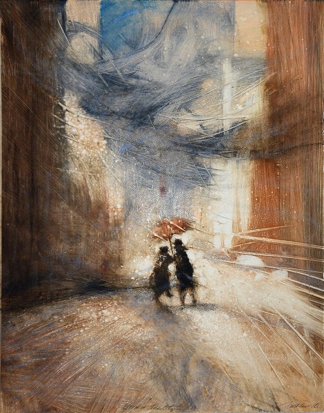 Bill Jacklin, Storm in the City I, 2016