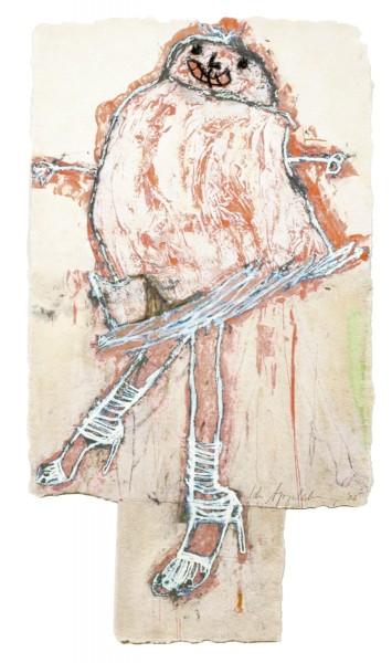 Ida Applebroog, Progeny Suite: Jimmy Choo, 2005