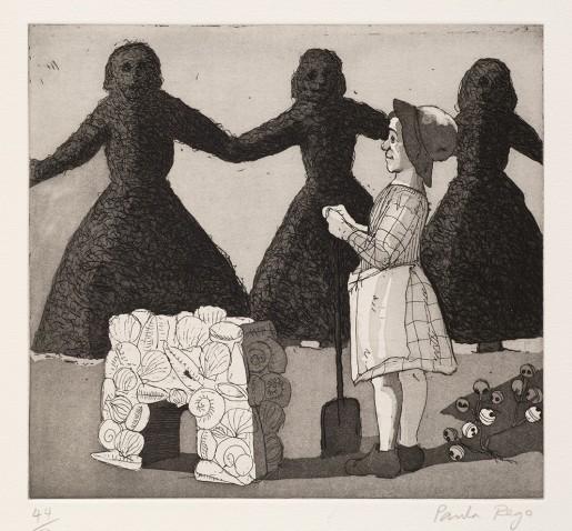 Paula Rego, Mary, Mary, Quite Contrary II, 1989
