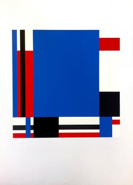 Jo Niemeyer, Variation 78 (Blue), 1988