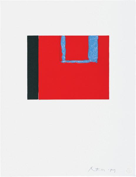 Robert Motherwell, Untitled, 1975