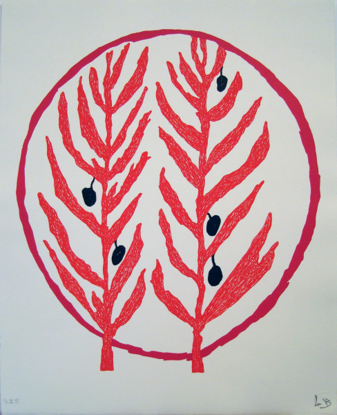 Louise Bourgeois, The Olive Branch, 2004