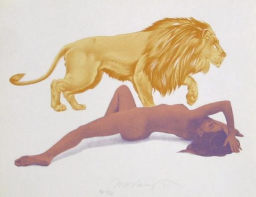 Mel Ramos, Leo, 1971-1972