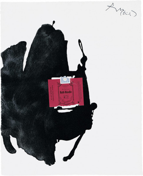 Robert Motherwell, Roth-Händle, 1975