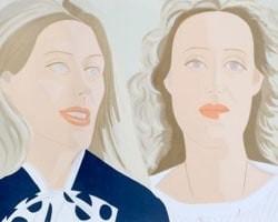 Alex Katz, Julia And Alexandra, 1983