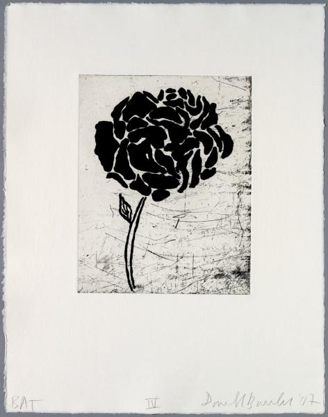 Donald Baechler, Five flowers IV, 2007