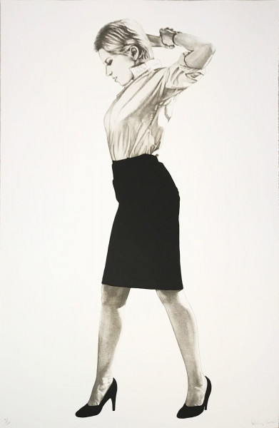 Robert Longo, Cindy, 2002
