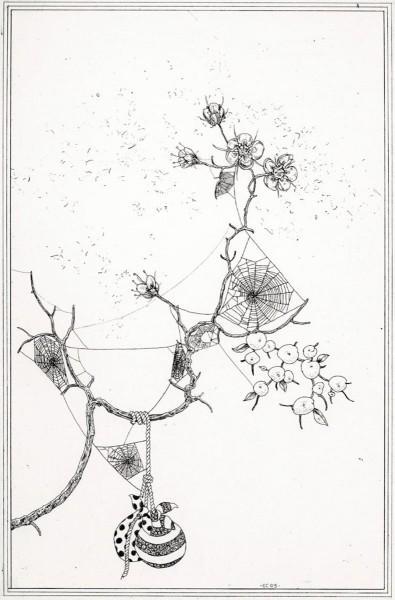 Ernesto Caivano, Among Webs, 2006