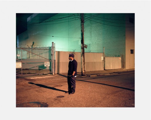 Dawin Meckel, rapper, Detroit, from DownTown - Detroit, 2009