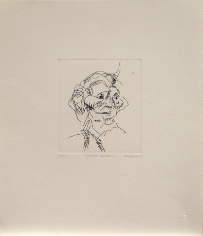 Frank Auerbach, Gerda Boehm, 1981