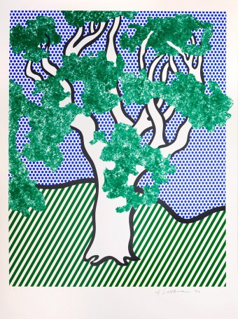 "Rain Forest, from the Portfolio ""Columbus"" by Roy Lichtenstein"