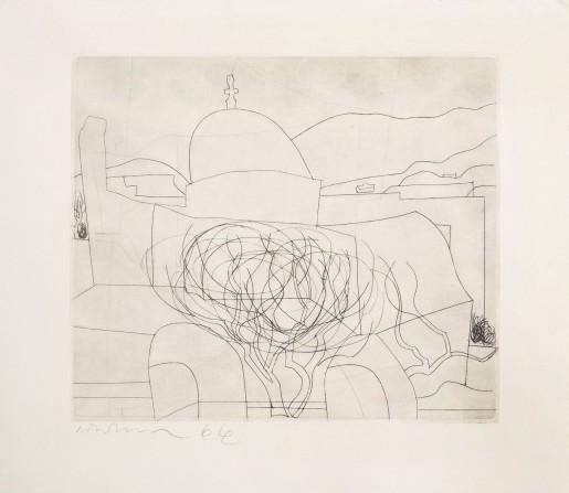 Ben Nicholson, Storm over Paros, 1967