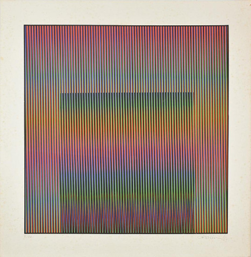 Carlos Cruz-Diez, Untitled, 1987