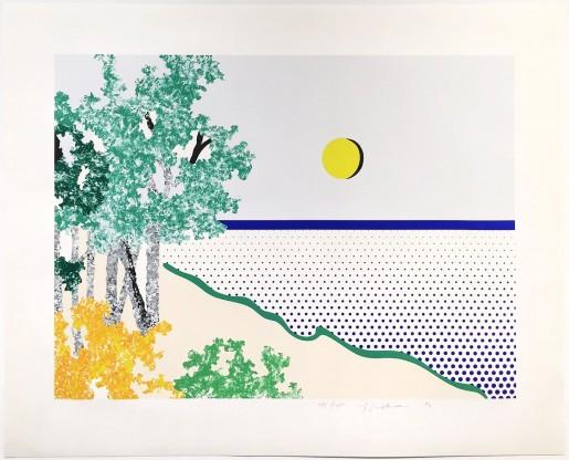 Roy Lichtenstein, Titled, 1996