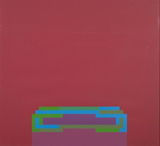 Robyn Denny, Light of the World (I), 1970