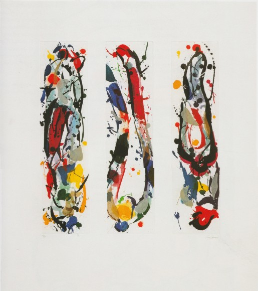 Sam Francis, Untitled, 1987