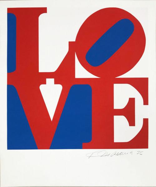 Robert Indiana, The Book of Love 5, 1996