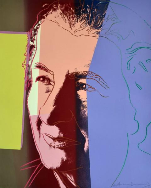 "Andy Warhol, Golda Meir (FS II.233), from the Portfolio ""Ten Portraits of Jews of the Twentieth Century"", 1980"