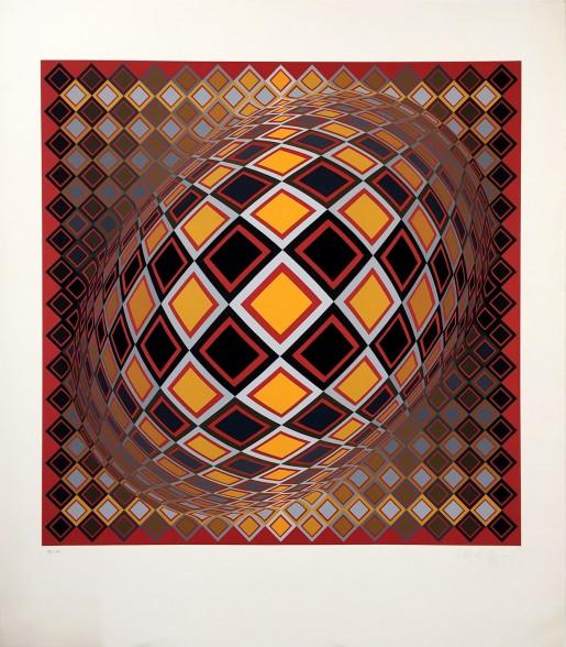 Victor Vasarely, Teke, 1978