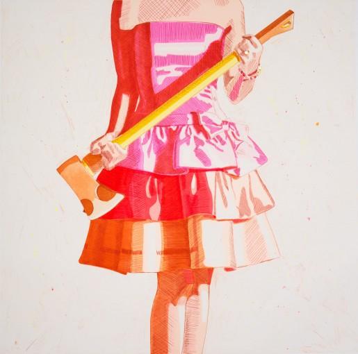 Kelly Reemtsen, Birthday Girl, Orange, 2015