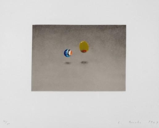 Ed Ruscha, Marble, Olive, 1969