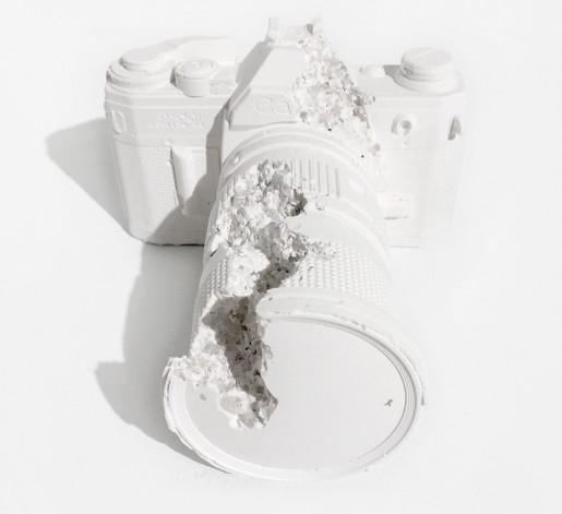 Daniel Arsham, Camera (Future Relic DAFR-02), 2014