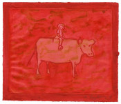 Untitled (Girl with Cow)