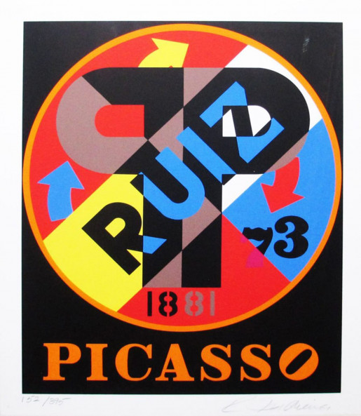 Robert Indiana, The American Dream (Picasso), 1996