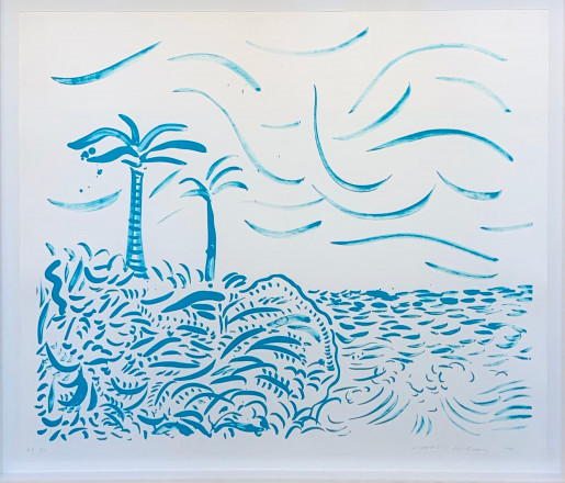 David Hockney, Green Bora Bora, 1979